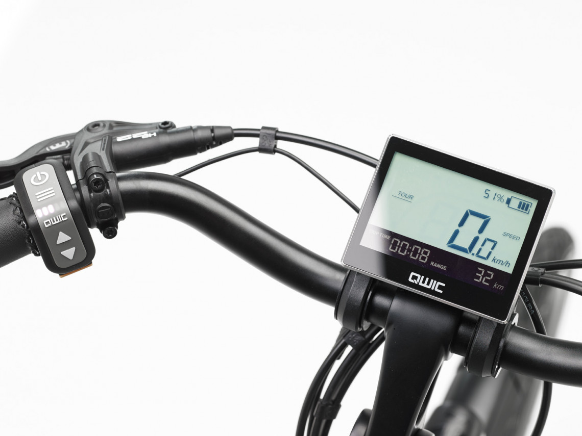 QWIC display met usb aansluiting
