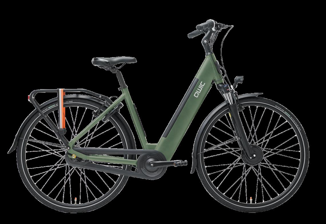 FN7 Lite vrouwelijk frame in de kleur army green